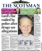 The Scotsman (UK) Newspaper Front Page for 28 July 2015