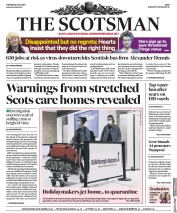 The Scotsman front page for 28 July 2020