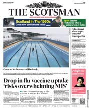 The Scotsman (UK) Newspaper Front Page for 28 August 2020