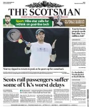 The Scotsman (UK) Newspaper Front Page for 29 December 2017