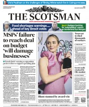 The Scotsman (UK) Newspaper Front Page for 29 January 2019