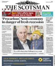 The Scotsman (UK) Newspaper Front Page for 29 June 2017