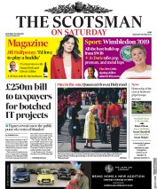 The Scotsman (UK) Newspaper Front Page for 29 June 2019