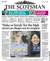 The Scotsman front page for 29 June 2020