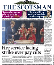 The Scotsman (UK) Newspaper Front Page for 29 July 2015
