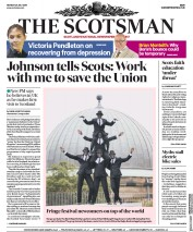 The Scotsman (UK) Newspaper Front Page for 29 July 2019