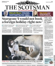 The Scotsman front page for 29 July 2020
