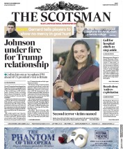 The Scotsman (UK) Newspaper Front Page for 2 December 2019