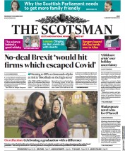 The Scotsman front page for 2 December 2020