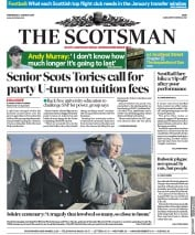 The Scotsman (UK) Newspaper Front Page for 2 January 2019