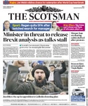 The Scotsman (UK) Newspaper Front Page for 2 February 2018