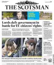 The Scotsman (UK) Newspaper Front Page for 2 March 2017