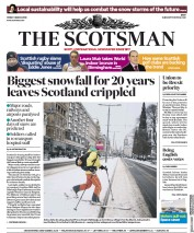 The Scotsman (UK) Newspaper Front Page for 2 March 2018