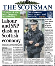 The Scotsman (UK) Newspaper Front Page for 2 April 2015