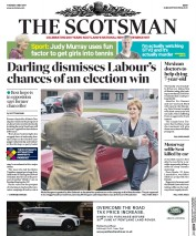 The Scotsman (UK) Newspaper Front Page for 2 May 2017