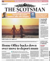 The Scotsman (UK) Newspaper Front Page for 2 May 2018