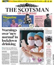 The Scotsman (UK) Newspaper Front Page for 2 May 2020