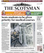 The Scotsman (UK) Newspaper Front Page for 2 July 2019