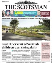The Scotsman (UK) Newspaper Front Page for 2 August 2017
