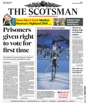 The Scotsman (UK) Newspaper Front Page for 2 August 2019