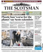 The Scotsman (UK) Newspaper Front Page for 30 November 2018