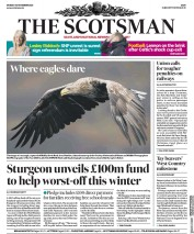 The Scotsman front page for 30 November 2020