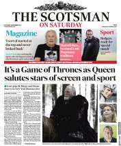 The Scotsman (UK) Newspaper Front Page for 30 December 2017