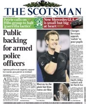 The Scotsman (UK) Newspaper Front Page for 30 January 2015