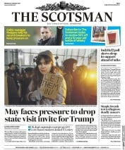 The Scotsman (UK) Newspaper Front Page for 30 January 2017