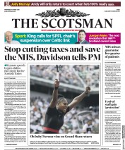 The Scotsman (UK) Newspaper Front Page for 30 May 2018