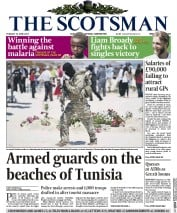 The Scotsman (UK) Newspaper Front Page for 30 June 2015