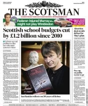 The Scotsman (UK) Newspaper Front Page for 30 June 2017