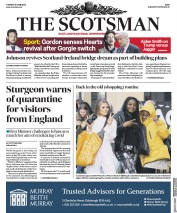 The Scotsman front page for 30 June 2020
