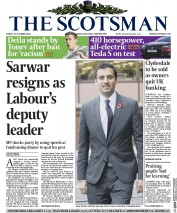 The Scotsman (UK) Newspaper Front Page for 31 October 2014