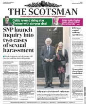 The Scotsman (UK) Newspaper Front Page for 31 October 2017