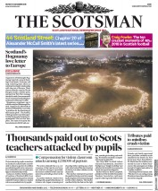 The Scotsman (UK) Newspaper Front Page for 31 December 2018
