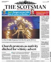 The Scotsman () Newspaper Front Page for 31 December 2019