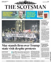 The Scotsman (UK) Newspaper Front Page for 31 January 2017