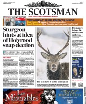 The Scotsman (UK) Newspaper Front Page for 31 January 2019