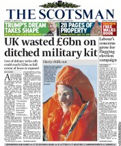 The Scotsman () Newspaper Front Page for 31 March 2011
