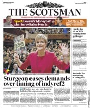 The Scotsman (UK) Newspaper Front Page for 31 May 2017