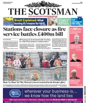 The Scotsman (UK) Newspaper Front Page for 31 May 2018