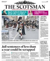 The Scotsman (UK) Newspaper Front Page for 31 July 2017