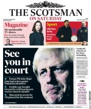 The Scotsman () Newspaper Front Page for 31 August 2019