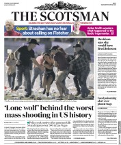 The Scotsman (UK) Newspaper Front Page for 3 October 2017