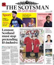 The Scotsman (UK) Newspaper Front Page for 3 November 2018