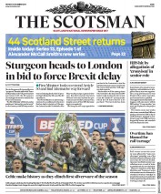 The Scotsman (UK) Newspaper Front Page for 3 December 2018