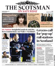 The Scotsman (UK) Newspaper Front Page for 3 February 2018