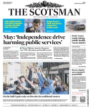 The Scotsman (UK) Newspaper Front Page for 3 March 2017