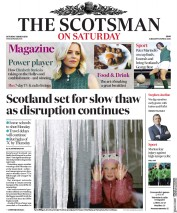 The Scotsman (UK) Newspaper Front Page for 3 March 2018